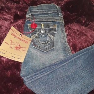True religion  girl New jeans 3t and 2t